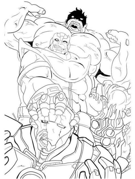 thanos coloring pages free printable coloring pages at
