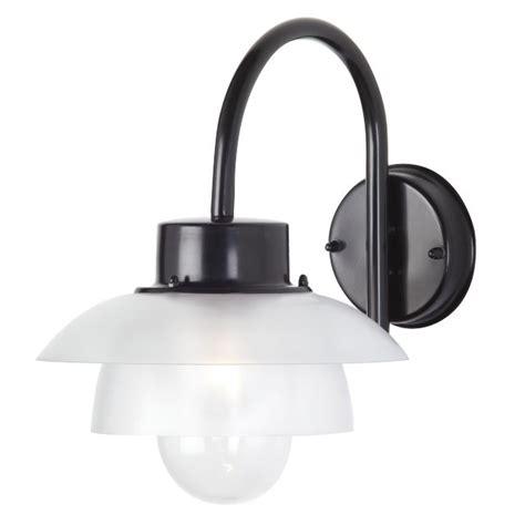 clearance alarch outdoor wall light ip44 black el 40065