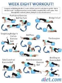 Printable Exercise Ball Workouts