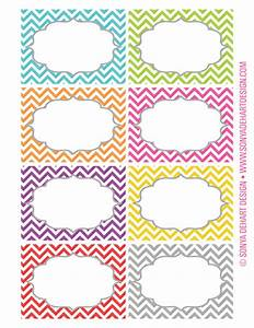 free printable chevron labels from sonya dehart design With how to print off labels