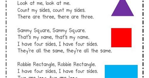 colors and shapes lyrics meet the shapes song pdf shapes shape songs school