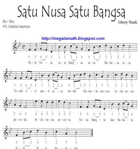 not lagu wajib ibu kita kartini not lagu wajib nasional indonesia fida zalfa