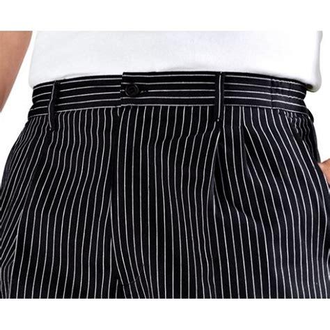 pantalon de cuisine bragard pantalon de cuisine à plis noir é funandoc de bragard