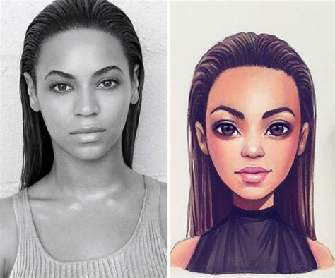 Celebrities Turned Into Cute Cartoon Characters By Russian