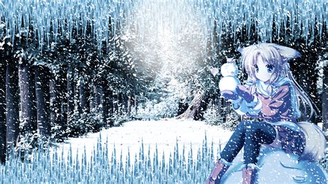 Anime Snow Wallpaper - snown anime wallpaper hd by ponydesign0 on deviantart