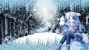 Snown Anime girl wallpaper HD by Ponydesign0 on DeviantArt