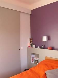 fabulous conseils pour une grande pice salon cuisine salle With awesome marier couleurs peinture murale 17 chambre mauve et gris