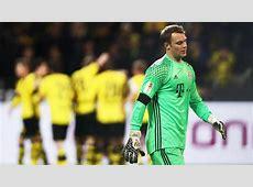 Belowpar Reds fall to first defeat of term FC Bayern Munich