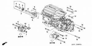 2001 Acura Mdx 5 Door Prem  Pkg  Ka 5at Alternator Bracket
