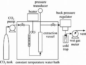 Schematic Diagram Of The Supercritical Fluid Extraction