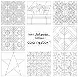 Quilt Coloring Pages Pattern Adult Patterns Quilting Books Craftdrawer Craft sketch template