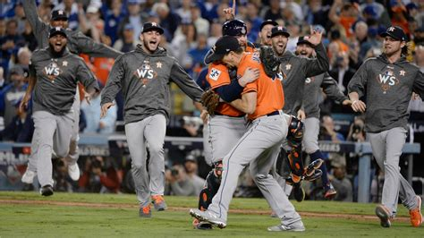 astros win  world series championship  game