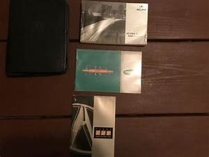 2001 Acura Tl Owners Manual With Case Oem Free Shipping