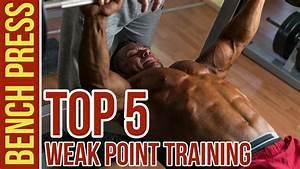 Top 5 Weak Point Training Chest Exercises