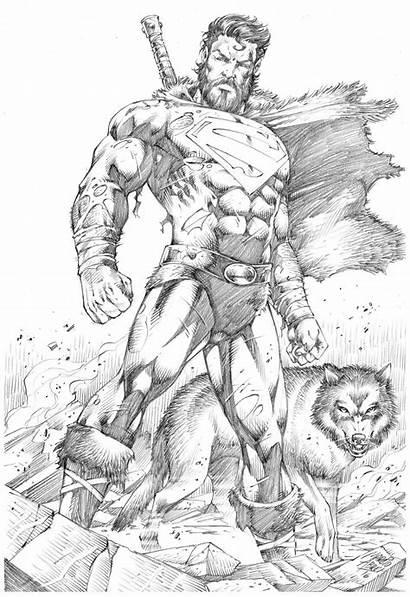 Superman Comic Marcio Abreu Drawing Comics Dc