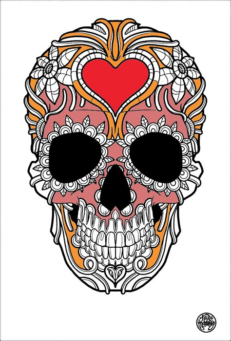 tattoos coloring pages  adults justcolor