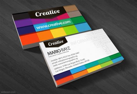 30 Colorful Business Card Design Examples For Your Inspiration Business Card Holder For Optometrist Icons Ai Soft Leather Metal Staples Tiffany And Co Contact Images Plastic Pocket Size Credit Guide