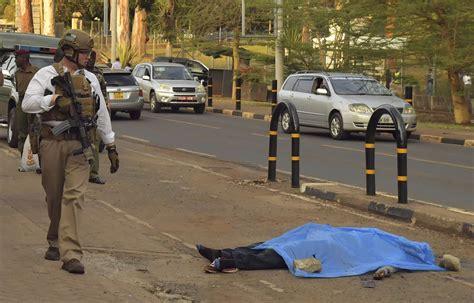 kenya  closes  embassy  nairobi  knife attack