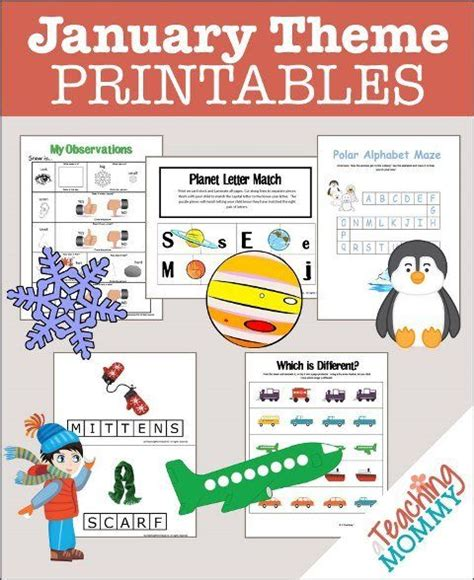 free january themed printables printables 219 | 52a7c206e798b7bbd8223ae7429ecab5