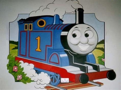 thomas and friends wall mural peenmedia com