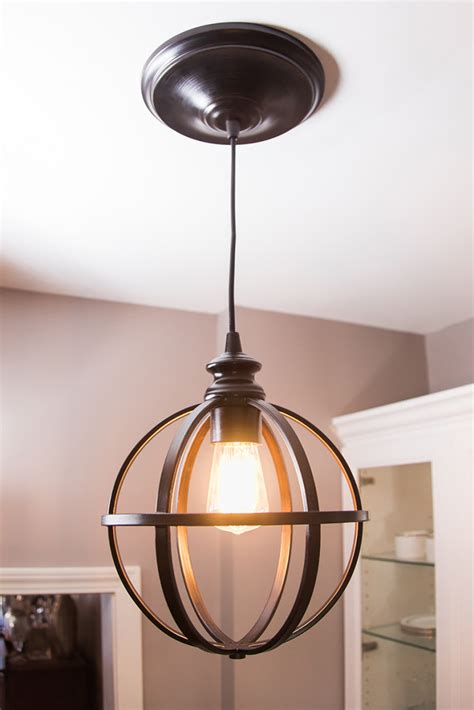 diy l shade easy diy pendant light how to the home depot