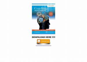 Coaching Psychology Manual  Free