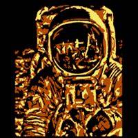 Astronaut - Stoneykins Pumpkin Carving Patterns and Stencils
