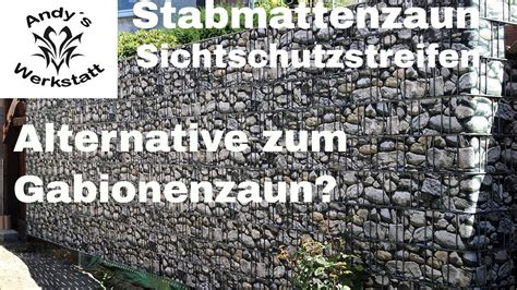 Alternative Zum Zaun by Alternative Zum Gabionenzaun Doppelstabmattenzaun Mi