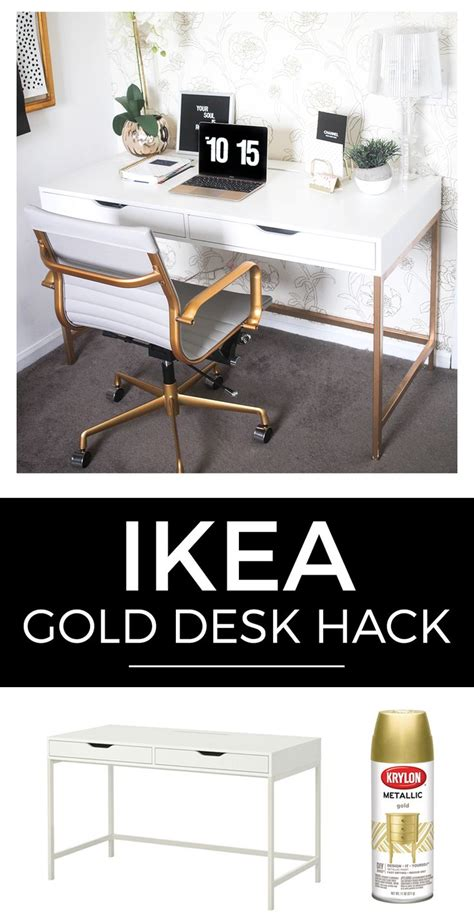 white desk with gold legs 1000 images about home office ideas on pinterest office