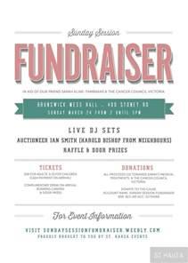 Fundraiser Event Flyer Template