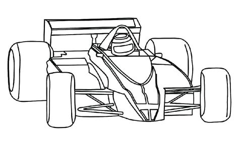 Formula 1 Coloring Pages at GetColorings com Free