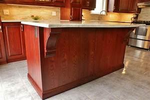 Cabernet Kitchen Cabinets - Shaker Cabernet Ready To