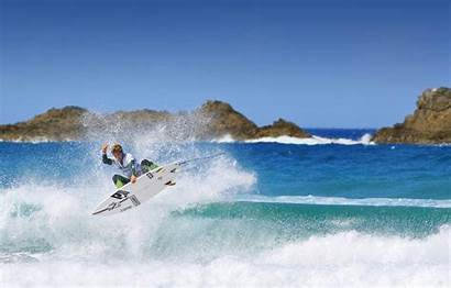 Extreme Surfboard Surfer Squirt Surfing Splash Wave
