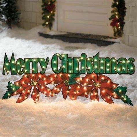 merry christmas outdoor decorations the world s catalog of ideas
