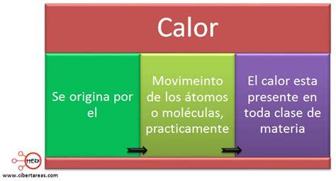 calor en quimica quimica  cibertareas