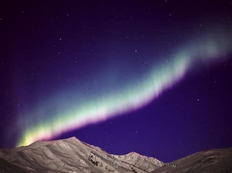 northern lights brooks range mountains alaska photo information