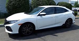 My First Honda  2018 Civic Hatchback Sport W  6