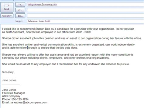Resume References Exles by Tips And Sles For Getting And Giving Recommendations