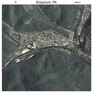 Emporium PA Map of Pennsylvania