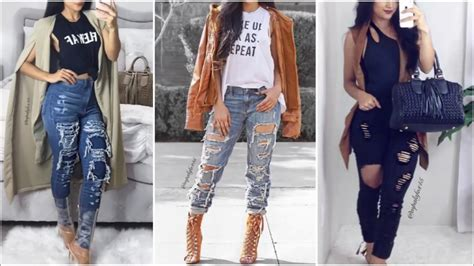 Baddie Street Style | Instagram Outfits 2017 - YouTube