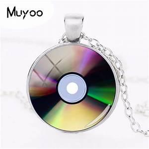 The Dome Cd 2018 : 2018 new cd photo necklace light disk pendant silver ~ Jslefanu.com Haus und Dekorationen