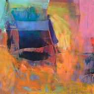Abstract Oil Pastel Paintings