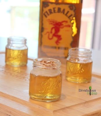 How to make the flaming hot apple pie shot by drinks made easy. Apple Pie Shots