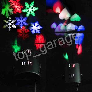 Christmas in outdoor snowflake led landscape laser light