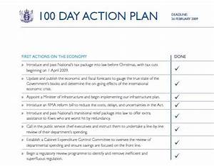the first 100 days kiwiblog With first 100 days plan template