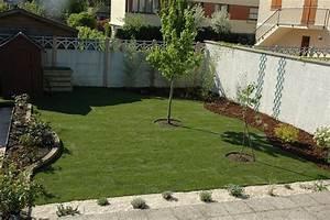 Gazon En Plaque : awesome jardin paysager avec galets gallery awesome ~ Premium-room.com Idées de Décoration