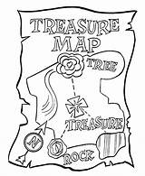 Treasure Map Coloring Pirate Pages Az Pirates Colouring Sheets Printables sketch template