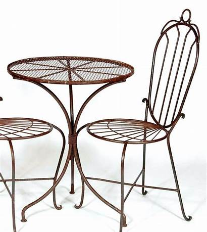 Metal Table Garden Outdoor Modern Chairs Patio
