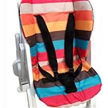 coussin chaise haute avec harnais amazon fr harnais chaise haute
