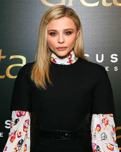 chloe moretz attends greta screening   york
